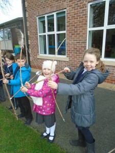 Bread, assembly and bows and arrows 060