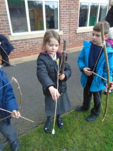 Bread, assembly and bows and arrows 067